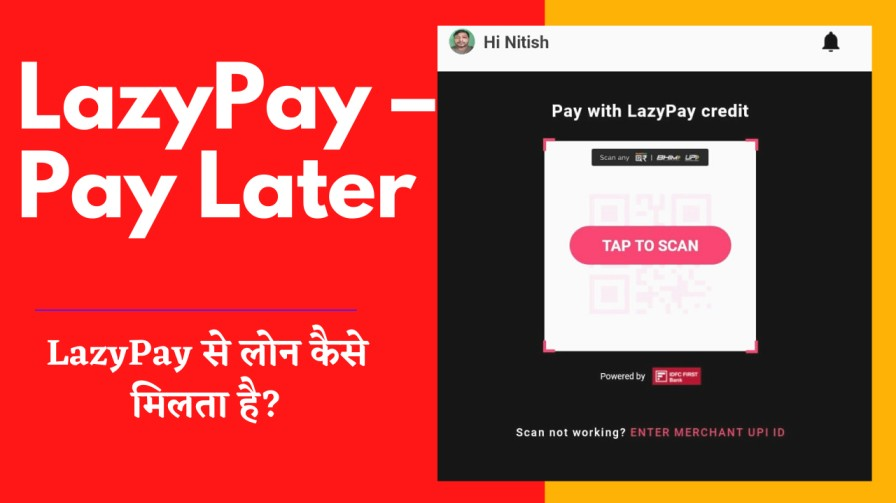LazyPay Pay Later