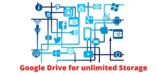 Google drive for file storage