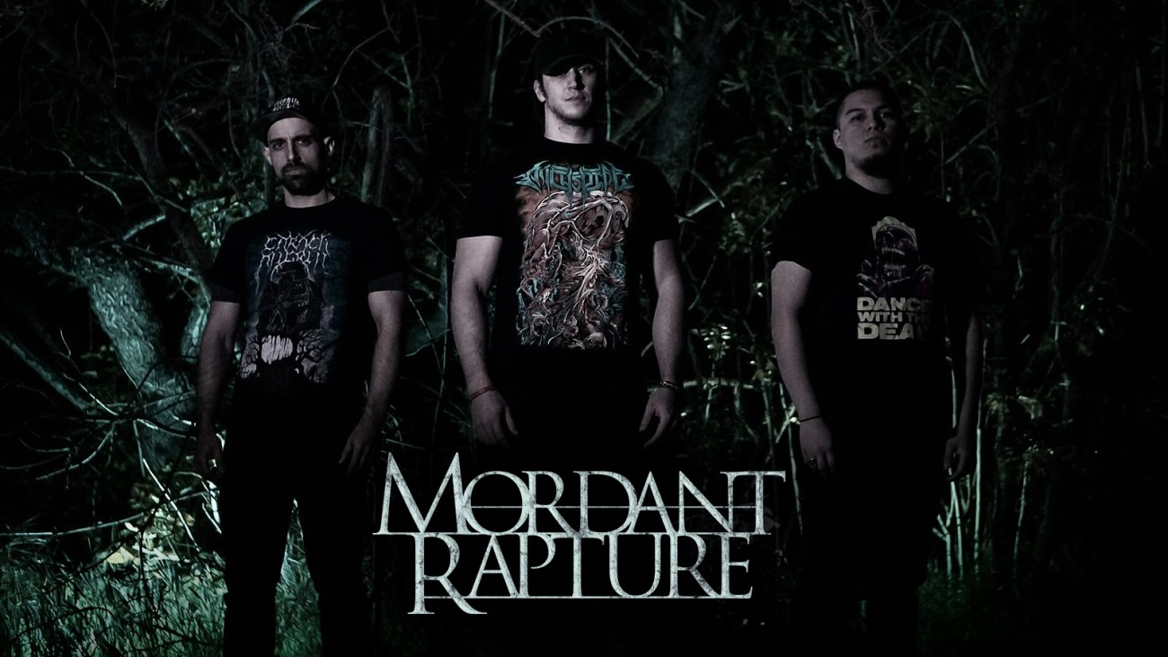 Mordant Rapture band photo