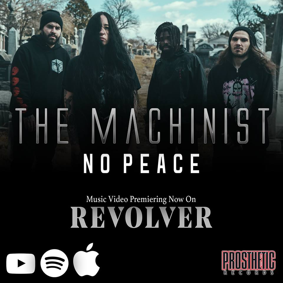 """The Machinist release new song """"No Peace"""", announce new album AND sign to Prosthetic Records!"""