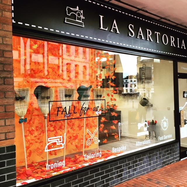 La Sartoria window display