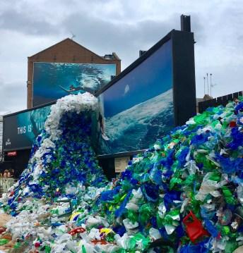 Ocean Plastic Wave Pile Old street