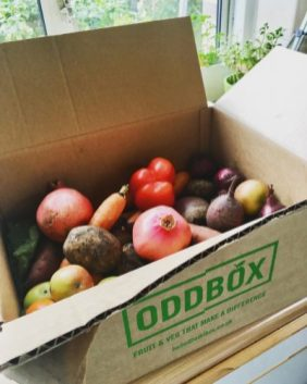 Oddbox rescued food waste