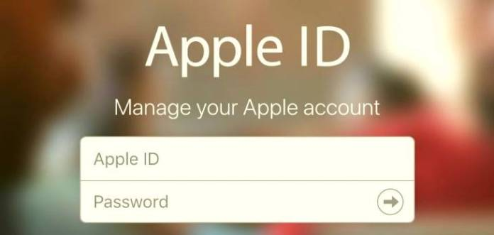 Recover apple id