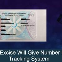Punjab Excise Will Give Number Plates A Tracking System