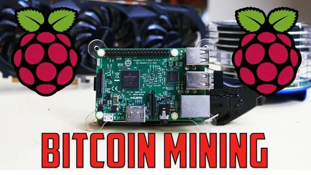 How to make a Raspberry Pi bitcoin mining rig