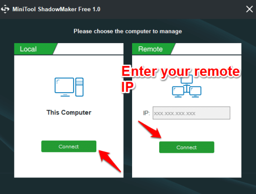 Back up your computer with MiniTool ShadowMaker Free