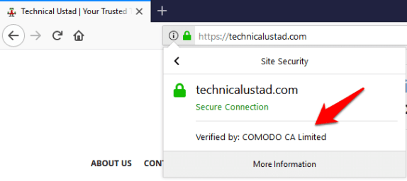 Does a padlock icon mean a site is completely safe to use