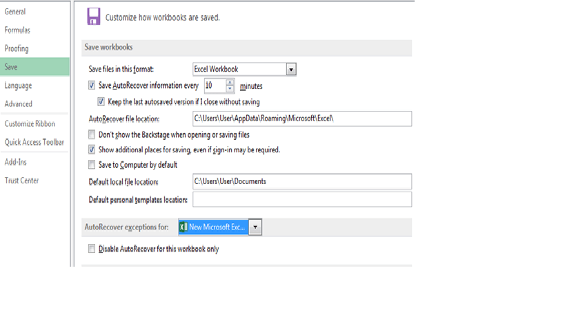Repair Corrupted Excel File
