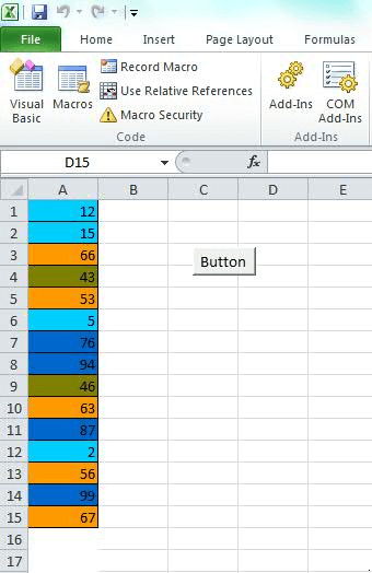VBA Excel Tutorial