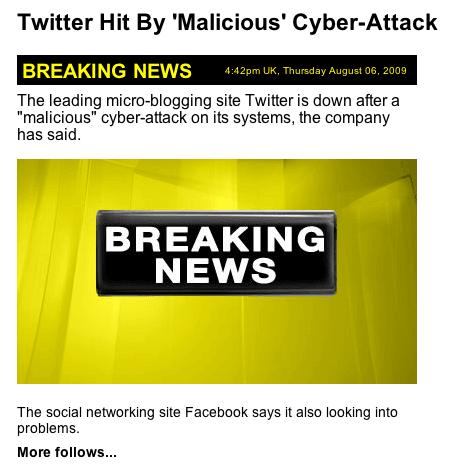 Twitter Attacks