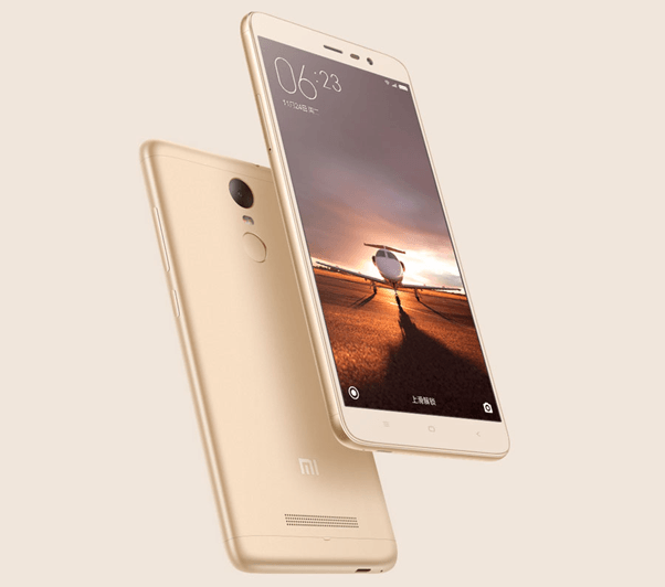 Xiaomi Redmi 3 Gold