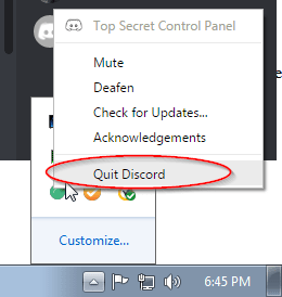 Discord search not working