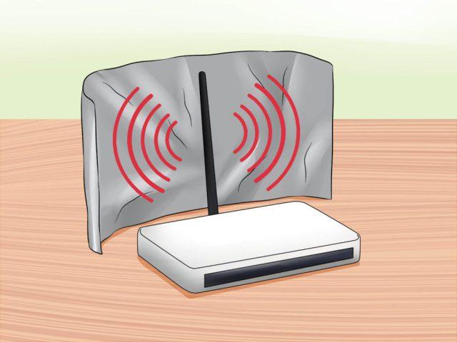 Enhance the WIFI signal with Aluminum foil