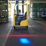 Forklifts Use Blue Lights