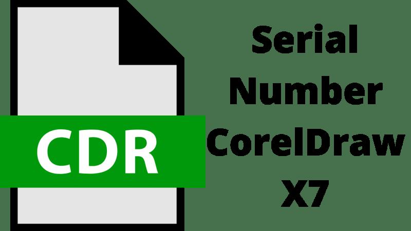 Serial Number CorelDraw X7 Activation Code 64/32 Bit