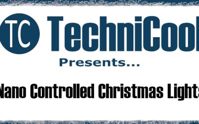Arduino Nano controlled Christmas Lights