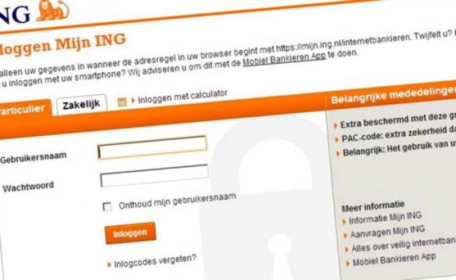 Ing Internetbankieren Kampt Met Storing Technieuws