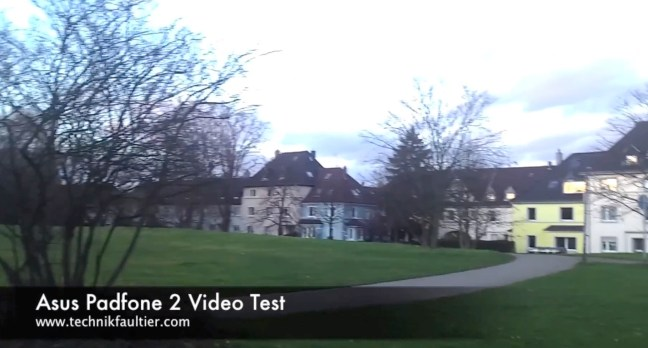 Asus Padfone 2 Video Test
