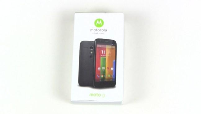 Motorola Moto G Unboxing und erster Eindruck