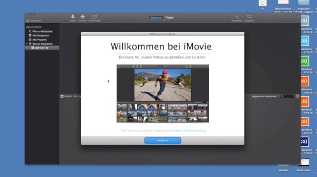 iMovie 11 Version 10.0 Update und erster Eindruck