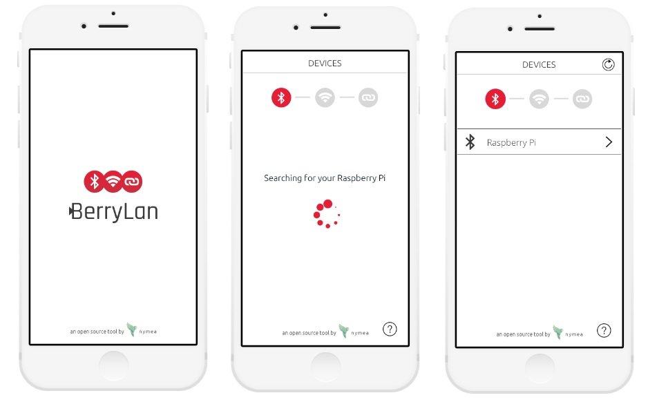 Raspberry Pi via App (Bluetooth) ins WLAN einbinden