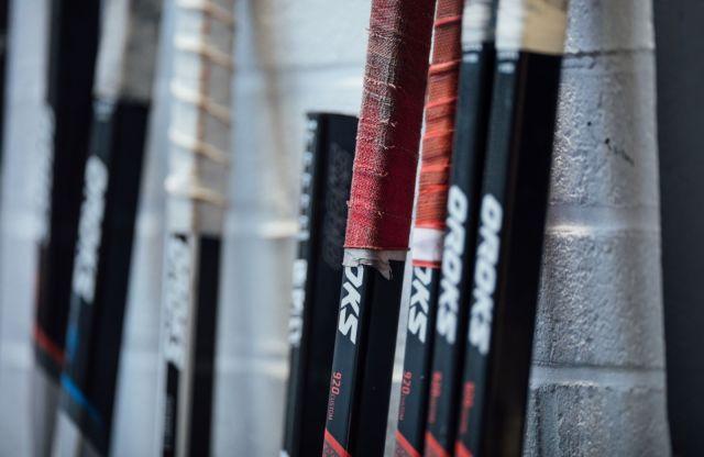 Bâtons de hockey Oroks - Photo fournie par Oroks