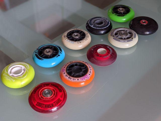 Comment choisir ses roues de roller hockey - Roues de différentes marques