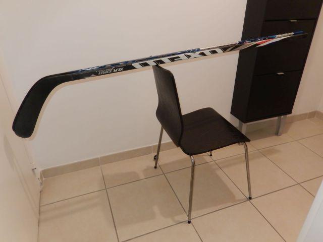Comparaison équilibre bâtons hockey