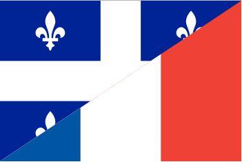 Drapeau Franco-québécois