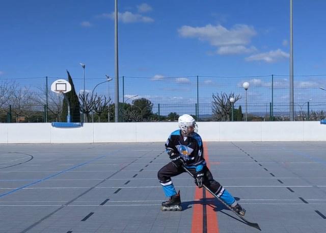 Freinage classique - Dérapage du patin avant - Technique Hockey