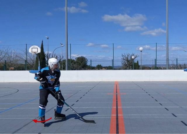 Freinage classique - Ouverture de hanche - Technique Hockey