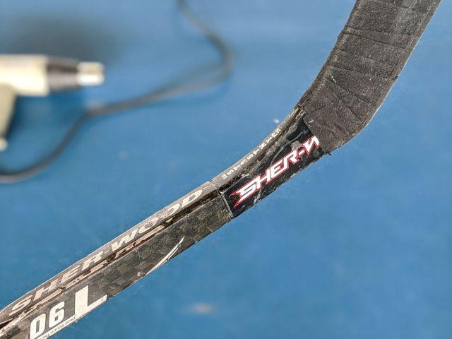 Jonction propre entre le manche et la palette - Comment changer une palette de hockey - Technique-Hockey