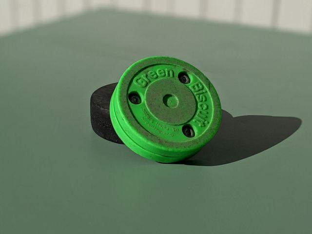 Rondelle de hockey Green Biscuit - Technique-Hockey