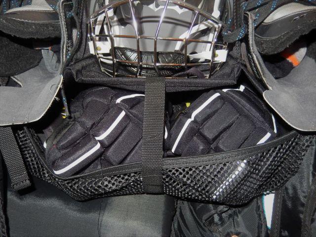 Sac de hockey Grit Tower Bag - Intérieur - Etage gants et coudieres
