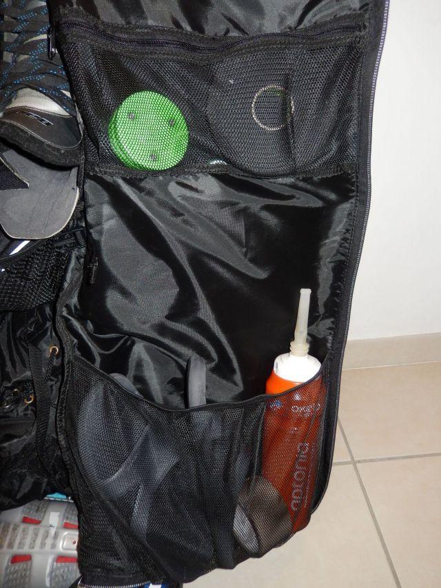Sac de hockey Grit Tower Bag - Poches du rabat