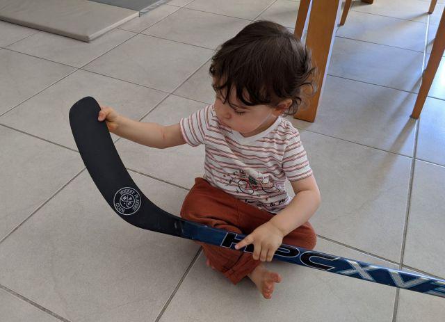 Souan et le bâton XV3 de Hockey Players Club - Technique-Hockey