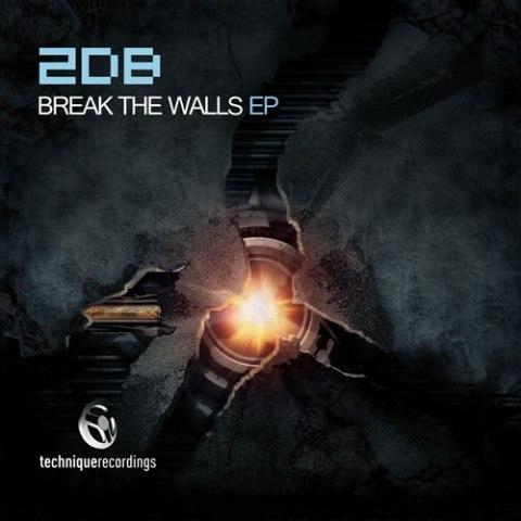 Tech085 - 2DB - Break the Walls EP - 500