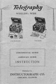"""""""Instructograph"""" Morse Code Training Device"""