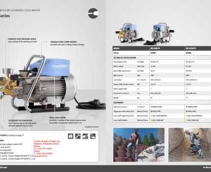 Kranzle HD12-130 Technical Data