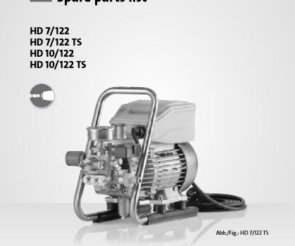 Kranzle HD7-122 Parts List