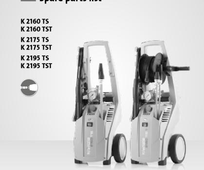 Kranzle K2175 Parts List