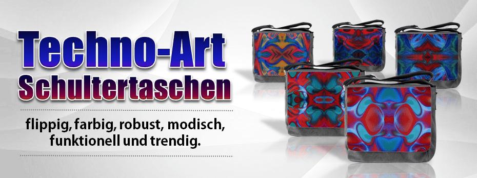 Techno Art Taschen
