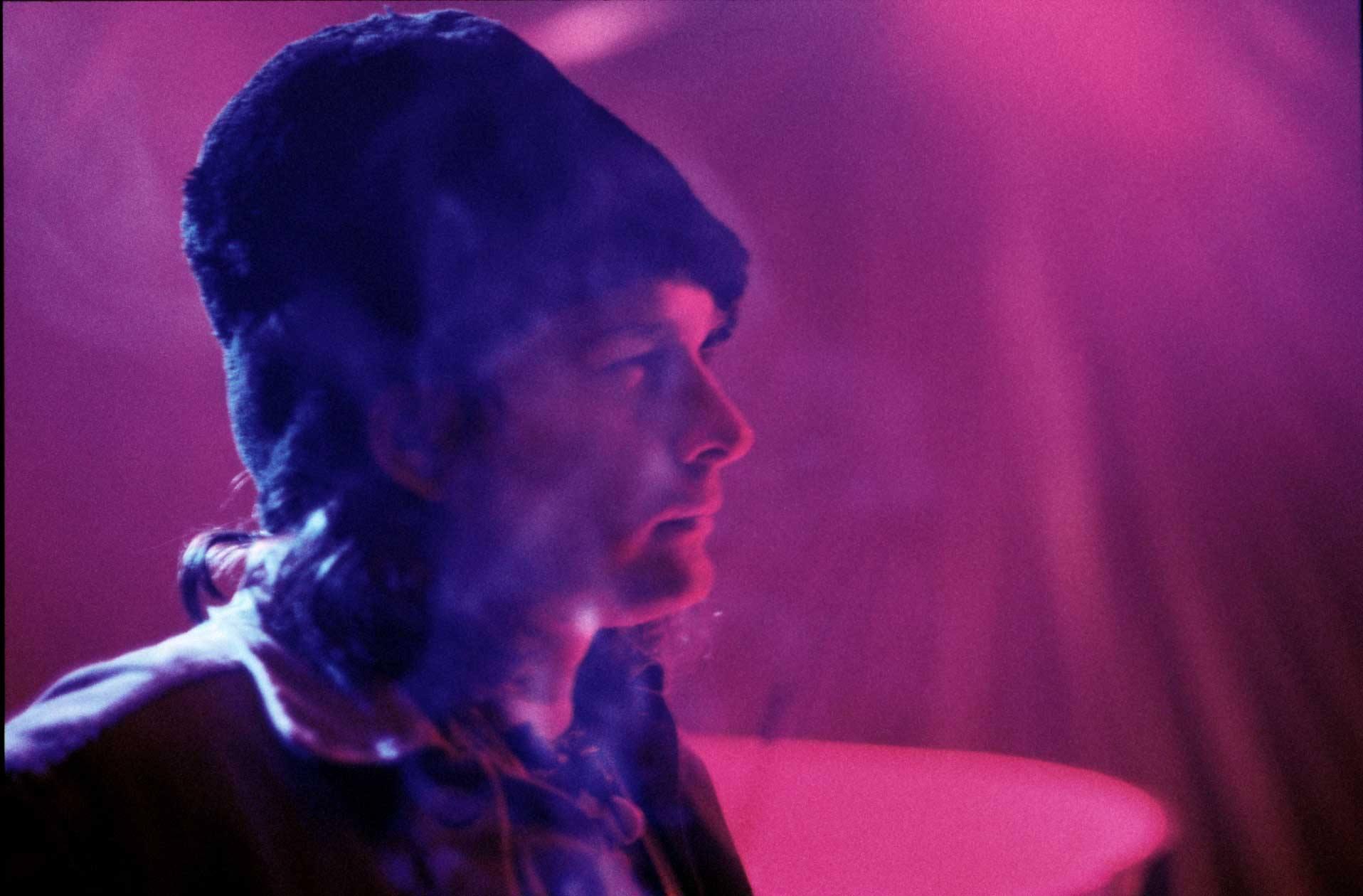 DJ mit Mütze