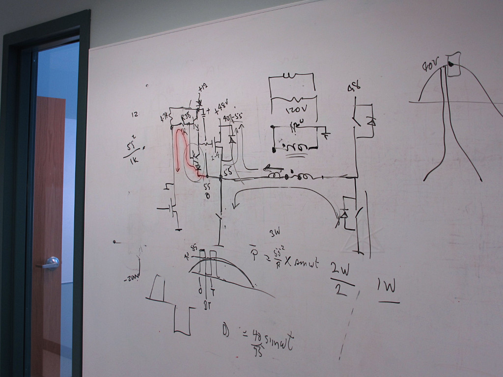 hight resolution of whiteboard doodle of design problem