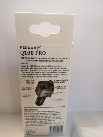 Feegar Q100 PRO