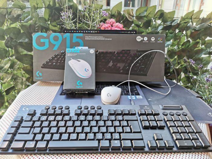 Logitech G915 - G102