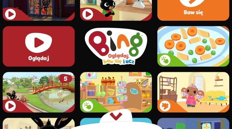Bing, Oglądaj, baw się, ucz