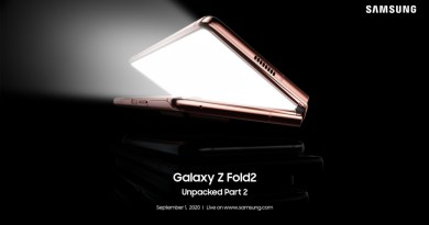 Unpacked Galaxy Z Fold2