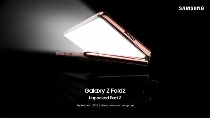 Unpacked Galaxy Z Fold2